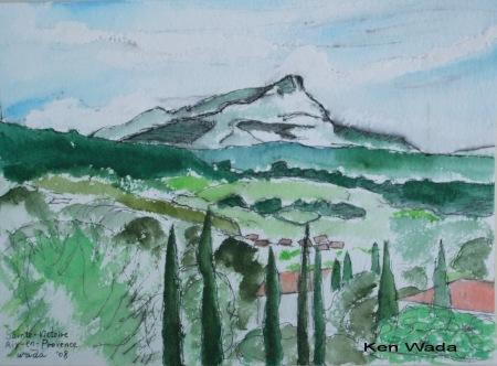 Ken Wada - Mont Sainte Victoire, 2008