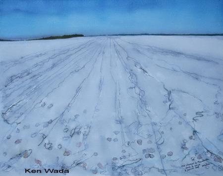 ken-wada-les-champs-de-maintenon-sous-la-neige