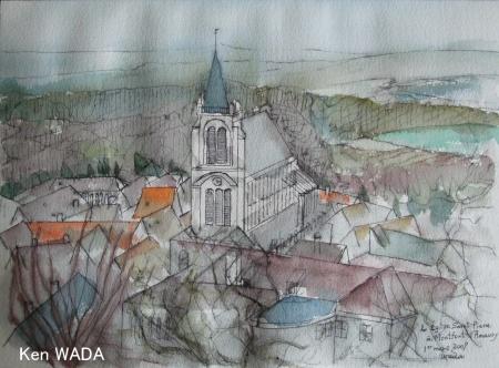 L'Eglise de Montfort-l'Amaury