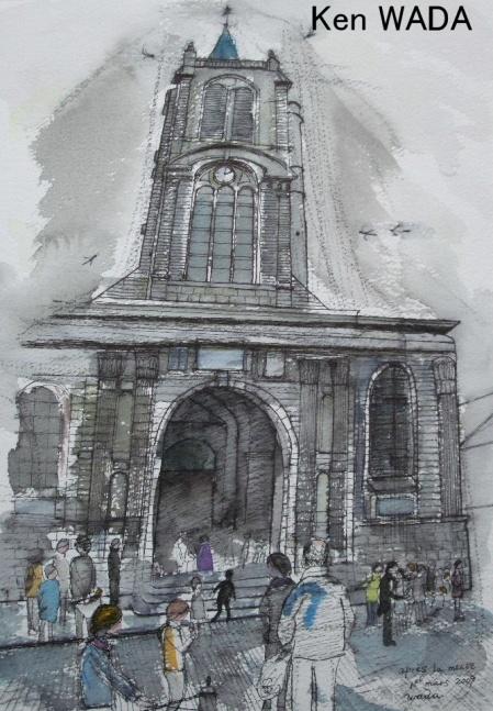 Apres la messe (The Old Church 11)