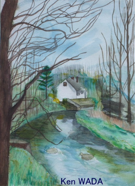 Ruisseau de Saint-Mamert