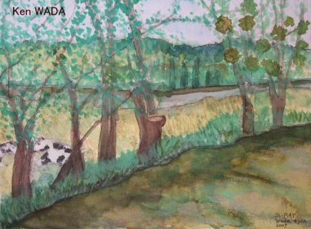 Paysage de La Vallee de L'Eure