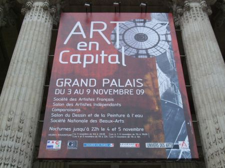 ART en CAPITAL au GRAND PALAIS!